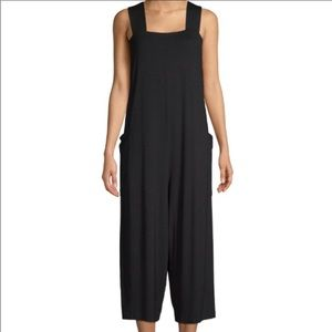 NWT Eileen Fisher Cropped Jersey Jumpsuit